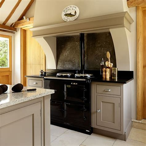 country kitchen with range cooker housetohome co uk neutral country kitchen with range cooker decorating