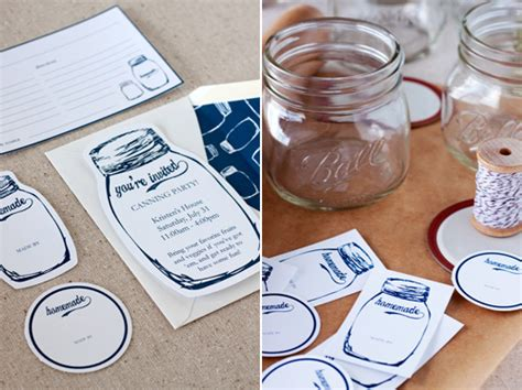 martha stewart printable jar labels canning jar labels