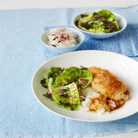 chicken katsu and home