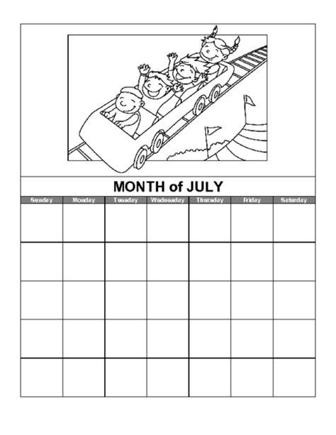 printable calendar education world july northern hemisphere calendar template education world