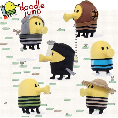 doodle jump cheats different characters doodle jump soft plush character 22cm teddy doodler