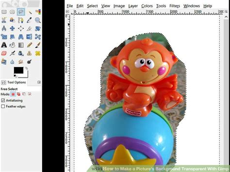 make picture background transparent how to make a picture s background transparent with gimp
