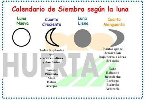 K Significa El Calendario Calendario De Siembra Seg 250 N La Plantas Y Hortalizas