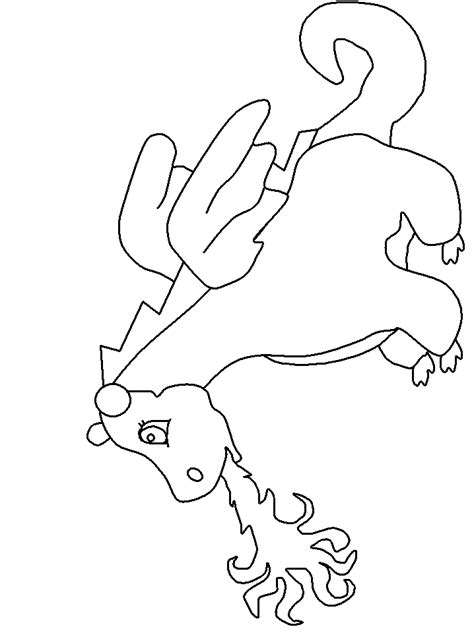 simple dragon coloring page dragon coloring pages sles