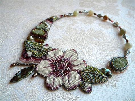 embroidery design necklace bead embroidery by olga orlova bead embroidery by olga