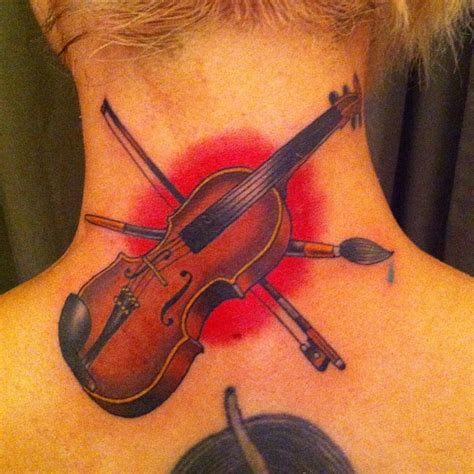 violin tattoo violin best design ideas
