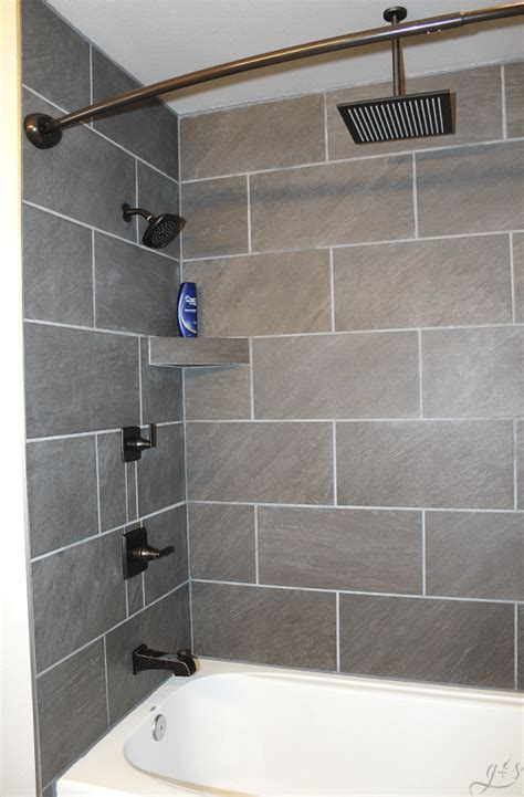 diy bathroom tile ideas 2018 diy how to tile shower surround walls grounded surrounded