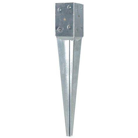 oz post t4 600 4 in square fence post 30180 the home depot