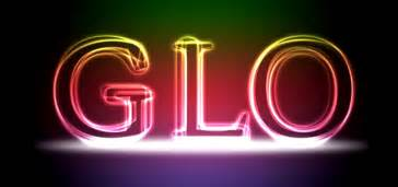create a glowing text effect photoshop tutorial designbump