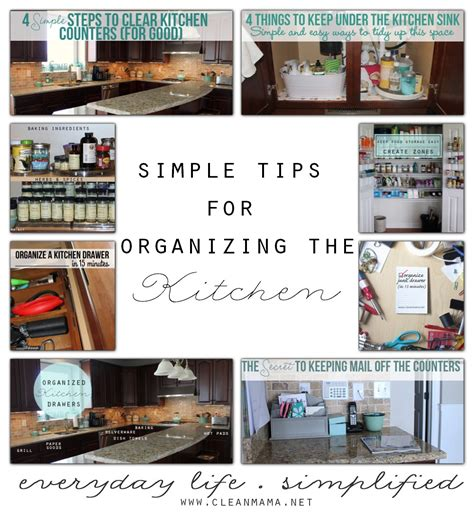 organizing the kitchen simple tips for organizing the kitchen clean