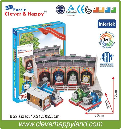 adult mini games 2013 new clever happy land 3d puzzle model mini thomas
