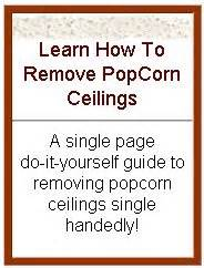 how to remove popcorn ceiling easy popcorn ceiling removal guide diy manual save by