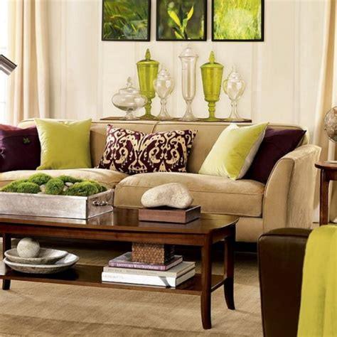 brown livingroom green and brown living room decor interior design