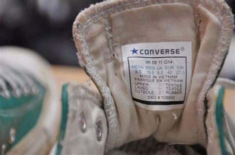 Converse Allstar Original Kode 6y cara memilih sepatu converse all yang asli dan 10