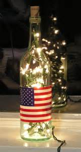 lights inside wine bottle clear wine bottle light with white lights inside and by