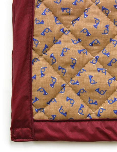 Quilted Fabric For Sale by 106 Deadquilt Quilted Blanket With Ripstop Backing