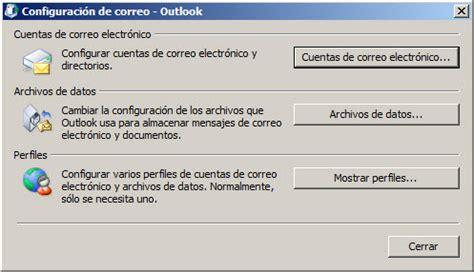 Crear Una Configuravion De Mba by Configurar Correo Exchange Outlook Anywhere