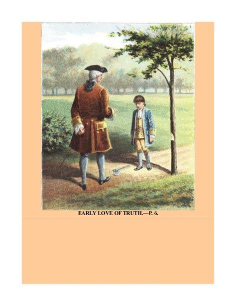 george washington biography sparknotes the life of george washington