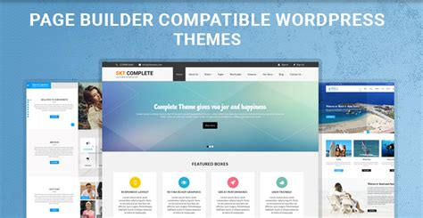 Themes Compatible With Page Builder | outstanding build wordpress theme crest exle resume