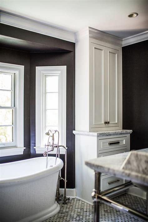 bathroom bay window black and white bathroom bay window tub nook