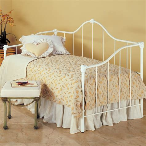 iron day bed saratoga iron daybed by wesley allen humble abode