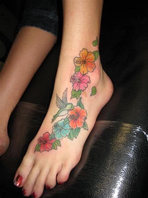 foot tattoo pain most spots to get a