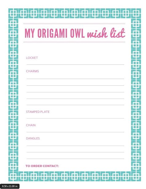 Origami List Of Things - origami owl wish list my charms piano american flag