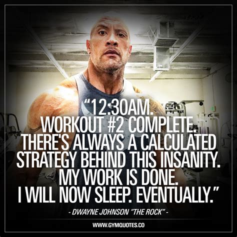 dwayne the rock johnson funny quotes 12 30am workout 2 complete dwayne johnson the rock