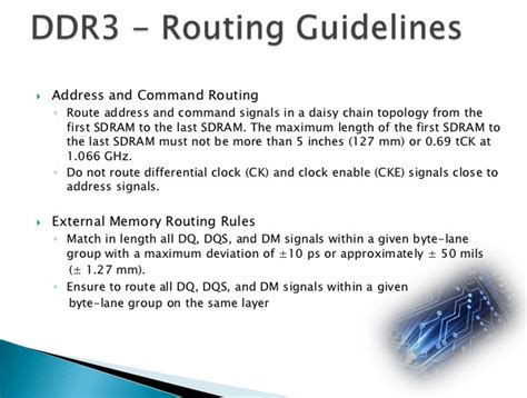 layout routing guidelines pcb designer ddr3 routing guidelines