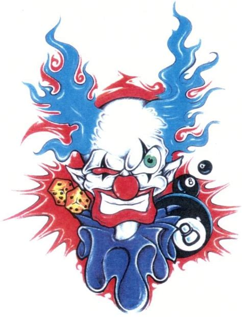 homie tattoo designs homies clown prince series 1 figure toys cliparts co