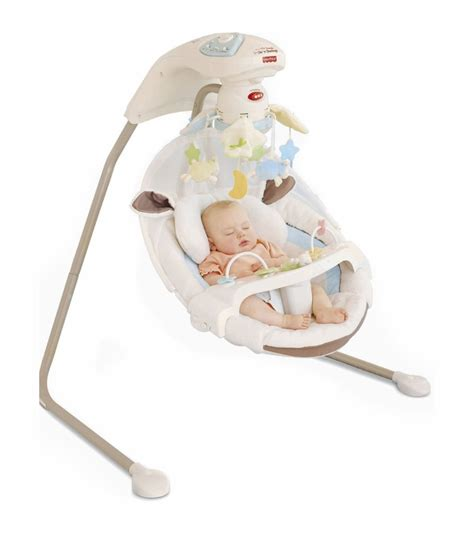 baby infant swing fisher price my little lamb cradle n swing