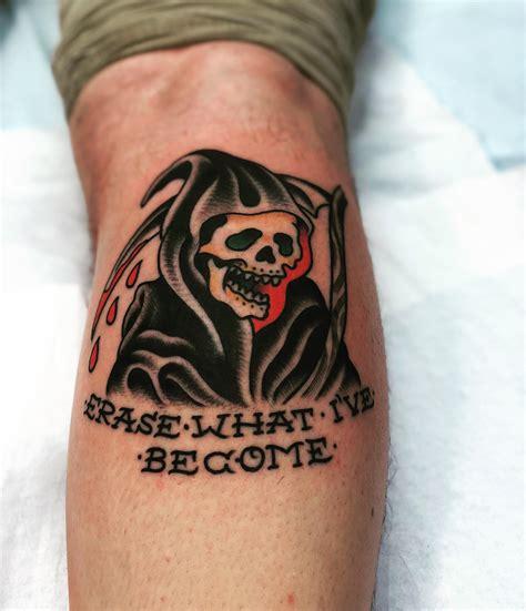 traditional reaper tattoo traditional grim reaper tattoos www pixshark
