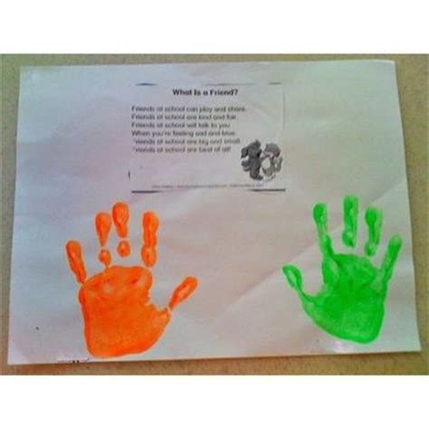 friendship craft ideas preschool friendship quotes quotesgram