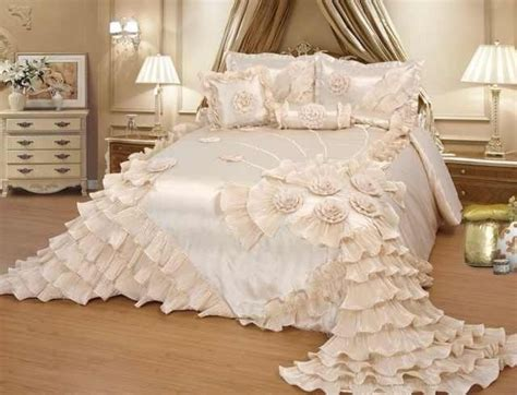 luxurious wedding bedding oversize comforter bedspread