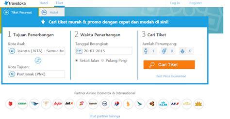 Cara Pesan Tiket Pesawat Online di Traveloka   Informasi