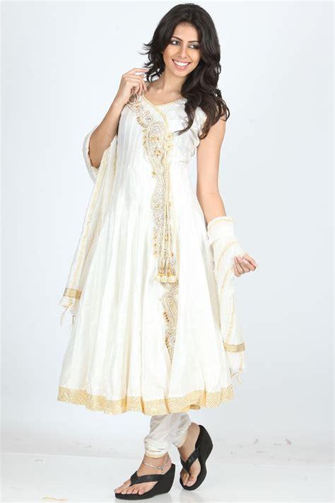 New Fashion Site Notcouture by White Anarkali Churidar Kameez Fashion Today