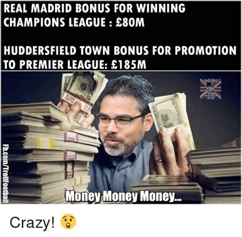 Premier League Winning Money - real madrid bonus for winning champions league e80m huddersfield town bonus for