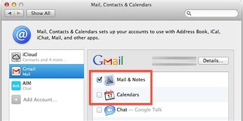 I Calendar On Android Sincronizzare Le Mail I Calendari E Le Note Da Mac Osx A