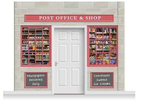 Office Shop 3 Drop Colchester Shop Front Post Office Shop Mural