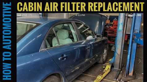 2006 Hyundai Sonata Filter by How To Replace The Cabin Air Filter On A 2006 Hyundai