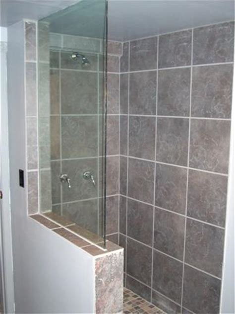 bathroom glass shower ideas frameless glass shower