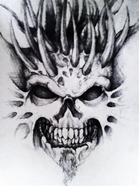 demonic tattoo designs images designs