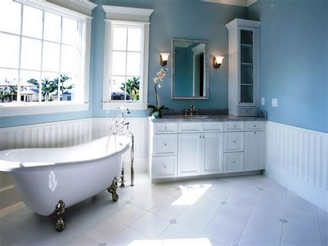 painting bathroom ideas how to decorate with different shades of blue decorilla