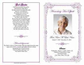 free funeral program template publisher best photos of funeral program template microsoft