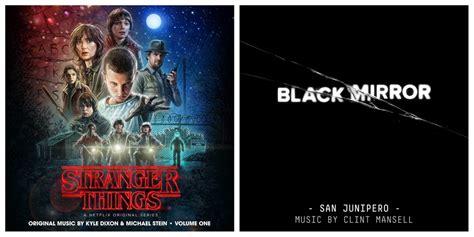 black mirror vs stranger things stranger things kyle dixon michael stein and black