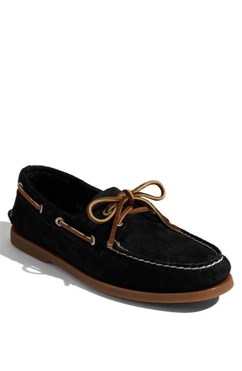 sperry top sider authentic original suede boat shoe in