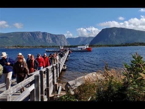 lowe boats newfoundland rv trip to newfoundland western brook pond boat tour