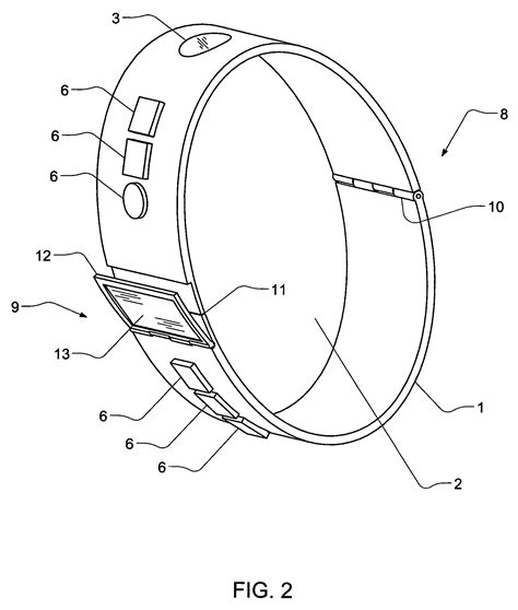 Patent US7602303   Personal crime prevention bracelet   Google Patents