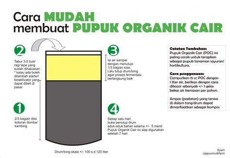 Pupuk Kandang Sapi Untuk Padi cara membuat pupuk organik cair oksigen pertanian satu