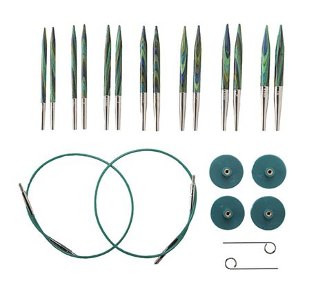 interchangeable knitting needle sets options interchangeable caspian circular knitting